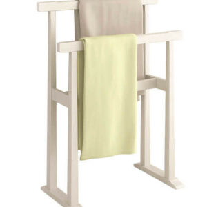 Curtains, mats and towel rails