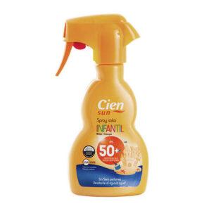 Children's sun protection spray